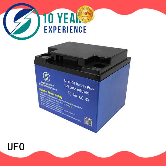 UFO New lithium iron battery company for alarm