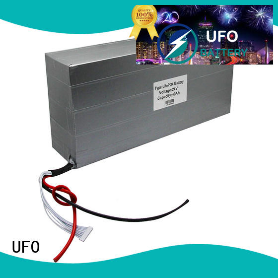 UFO reliable lithium ion rechargeable battery pack with flexible size for solar street light