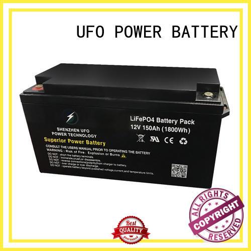 highly durable 12 volt lithium battery 128v150ah supplier for sale