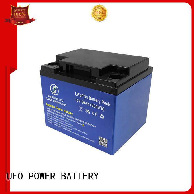 12 volt lithium battery manufacturer for sale UFO
