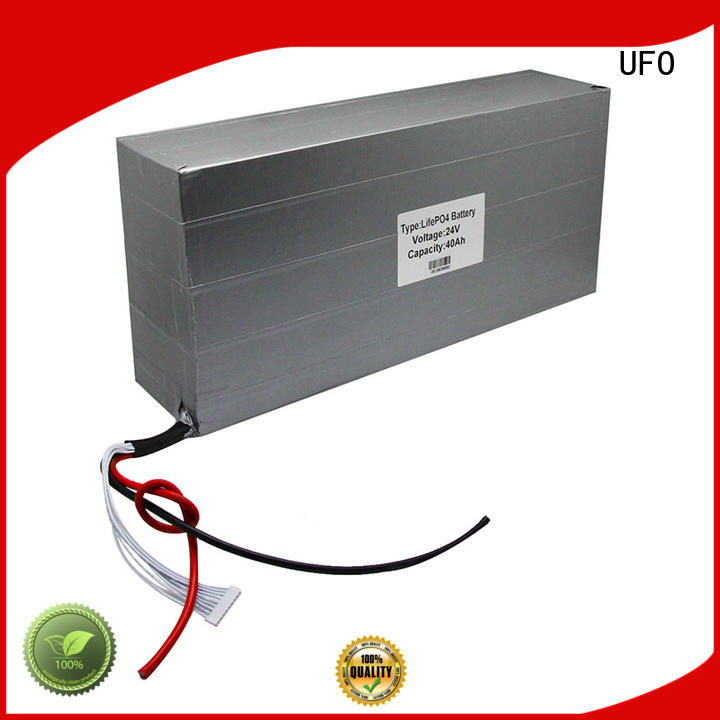 UFO professional 24 volt lithium battery pack lifepo for solar street light