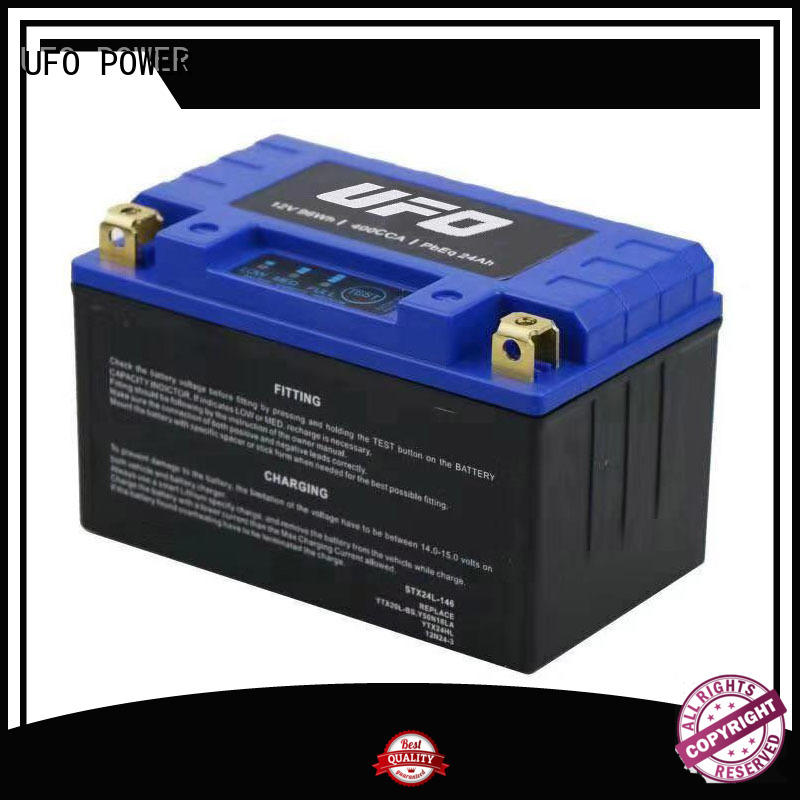 UFO yb lithium 12v automotive battery with discharge voltage balance for electric cars