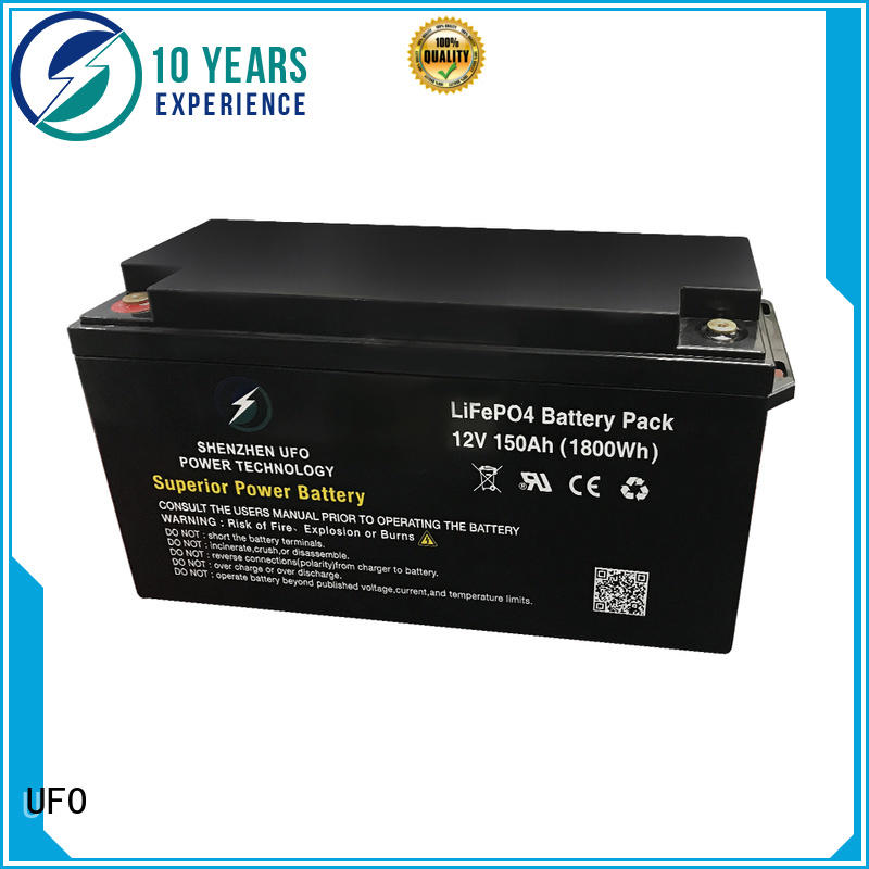 UFO New lifepo4 battery supply for alarm