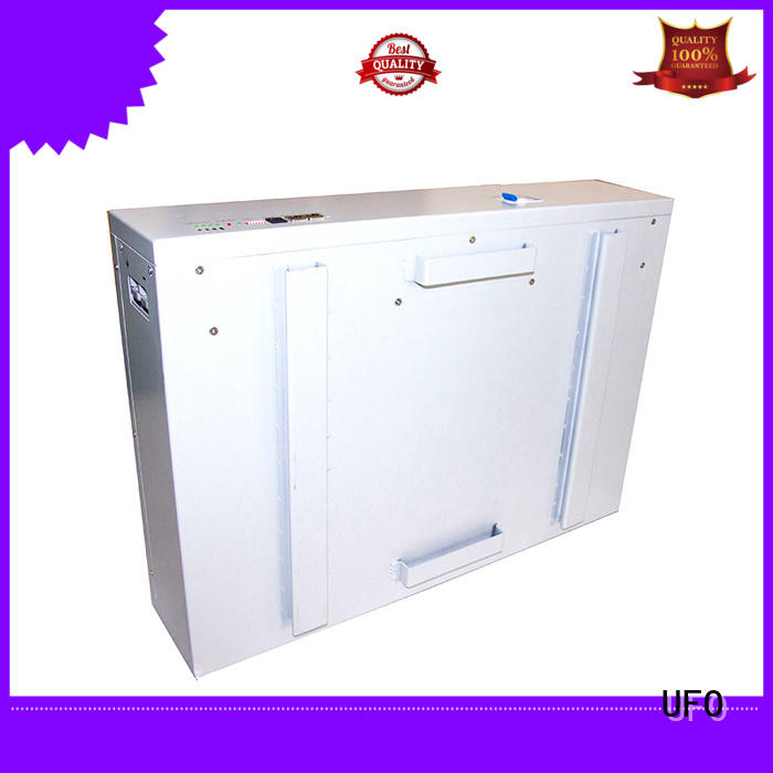 UFO top selling power wall battery with automation control technology for solar system telecommunication ups