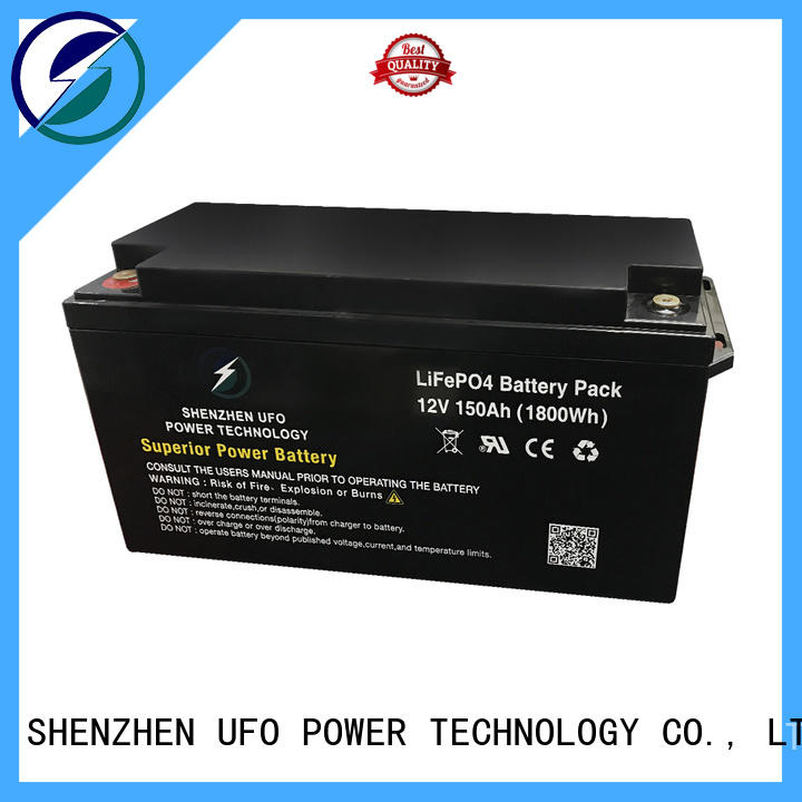 UFO Custom lithium iron battery manufacturers for sale