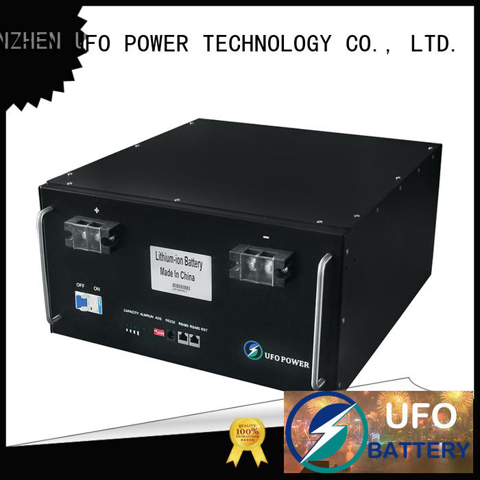 UFO ups lithium ion solar battery company for communication base station