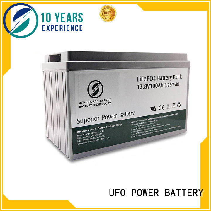 UFO solar 12v lithium iron battery company for solar system Gel battery replacement
