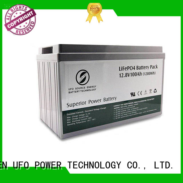 UFO New 12 volt lithium battery factory for solar system Gel battery replacement