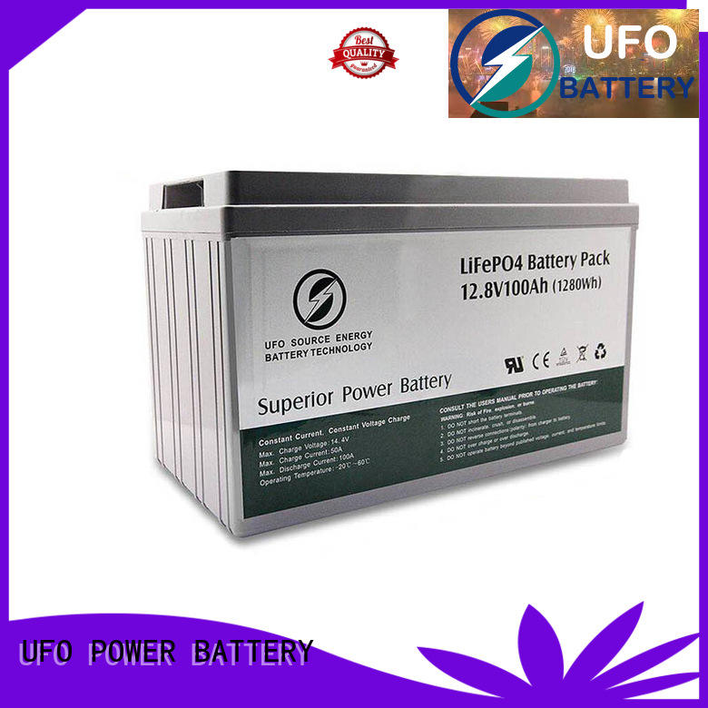 UFO cart 12v lithium iron battery supply for sale
