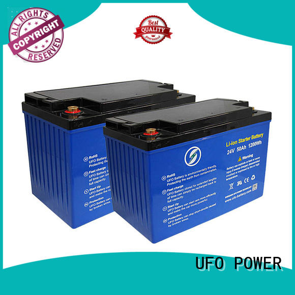 UFO professional 24v lithium battery pack lifepo for alarm
