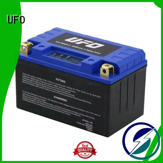 UFO motorcycle lithium ion starter battery