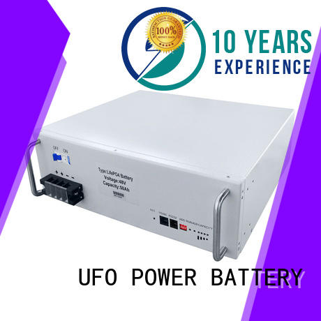 UFO solar 48v lithium battery company for solar system telecommunication ups