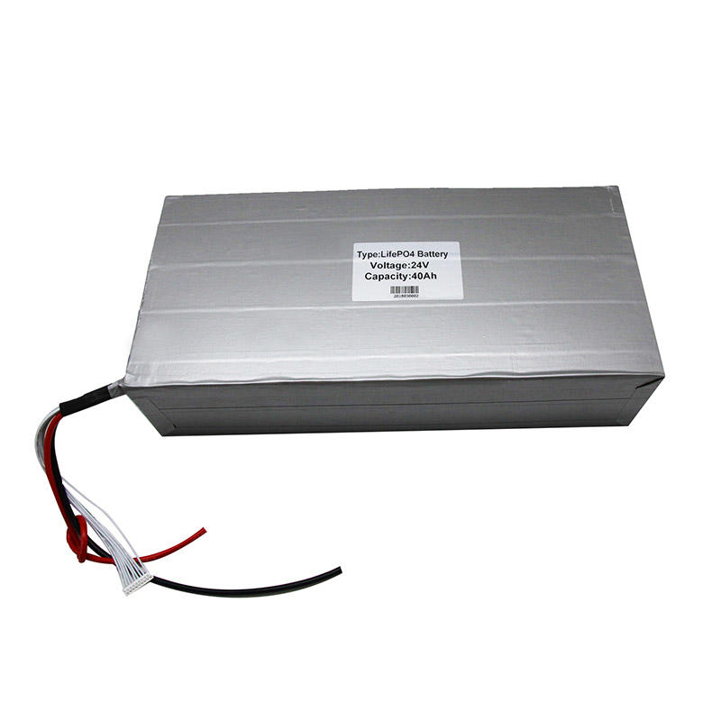 Lithium ion rechargeable battery 24V40Ah for Solar system solar street light-1