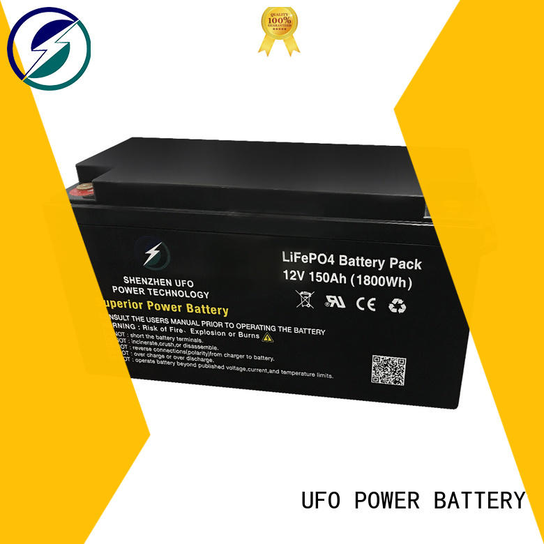 UFO New lifepo4 lithium battery supply for sale