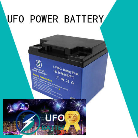 UFO golf lithium iron battery for business for solar system Gel battery replacement