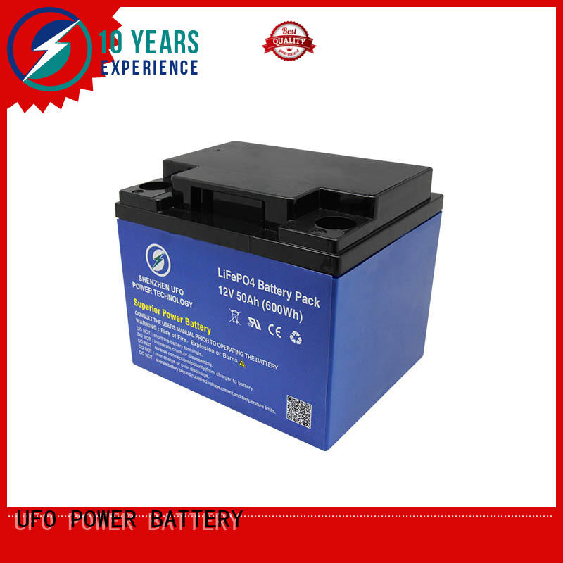 UFO Latest lifepo4 battery pack for business for solar system Gel battery replacement