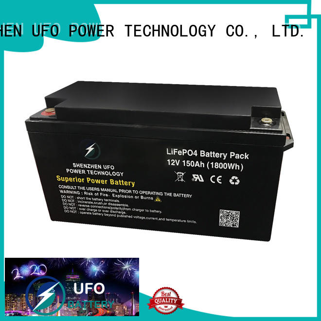UFO High-quality 12 volt lifepo4 battery company for sale
