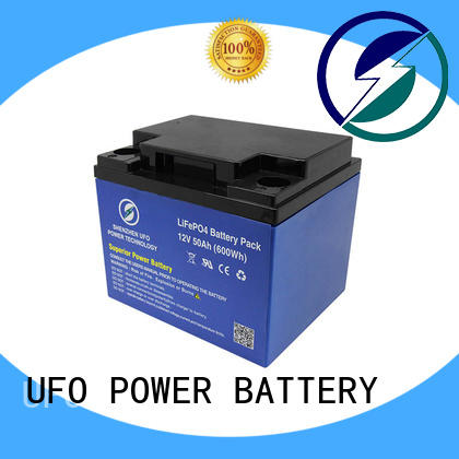 UFO 100ah 12v lithium iron battery supplier for solar system Gel battery replacement