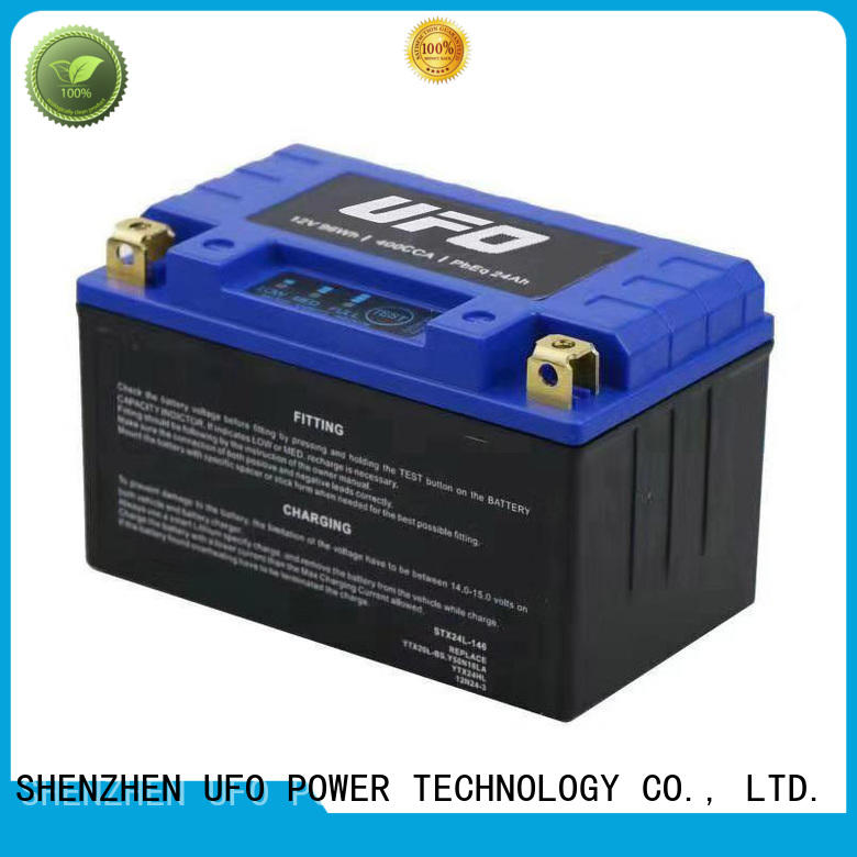 UFO High-quality lithium starter battery manufacturers for sale