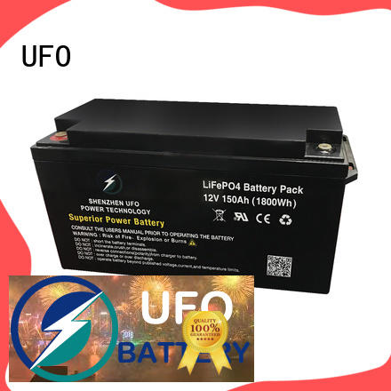 UFO Latest lifepo4 lithium battery suppliers for solar system Gel battery replacement