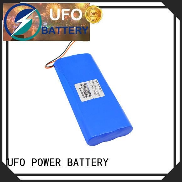 UFO Top rechargeable li ion battery pack factory for sale