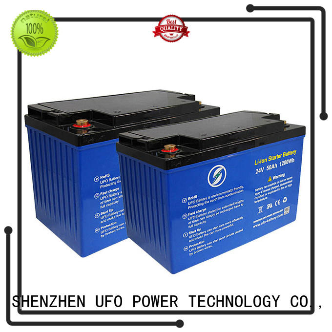UFO professional 12v lithium iron battery supplier for sale