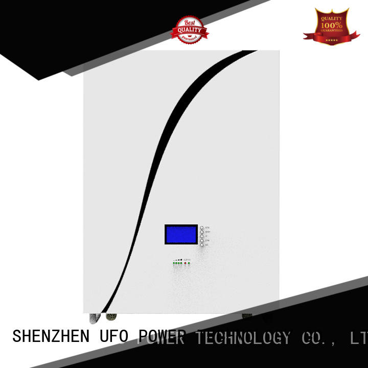 UFO high power density power wall battery for solar system telecommunication ups