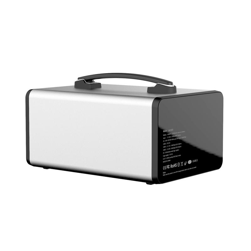 1000Wh Portable Solar Generator Lithium ion Battery