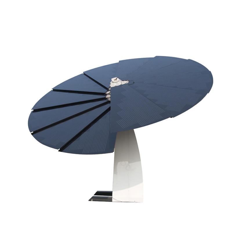UFO Sunflower Solar Power System EV Charger