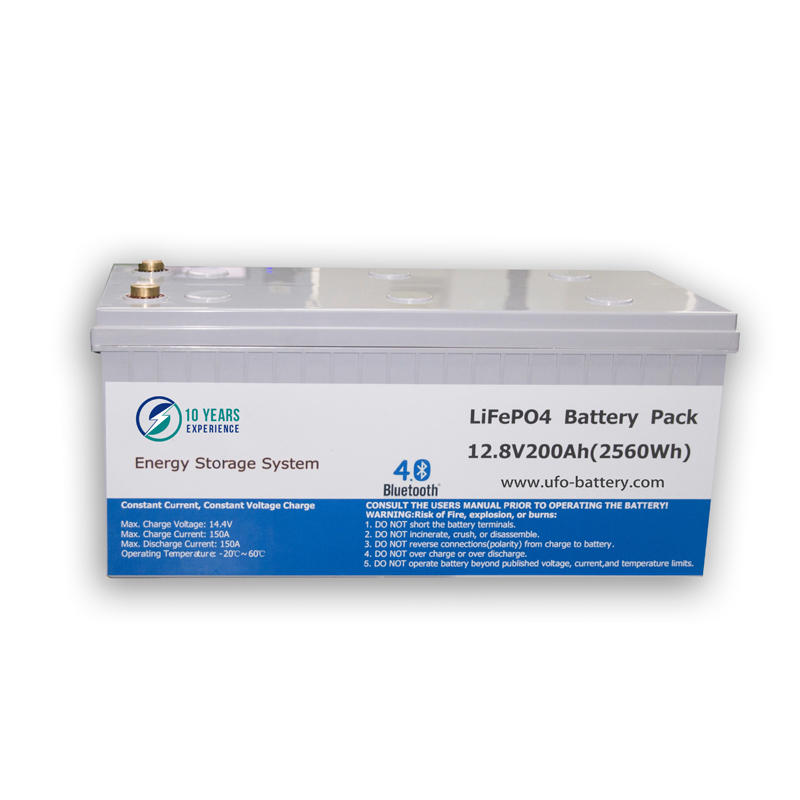 UFO 128v50ah lifepo4 battery for business for alarm