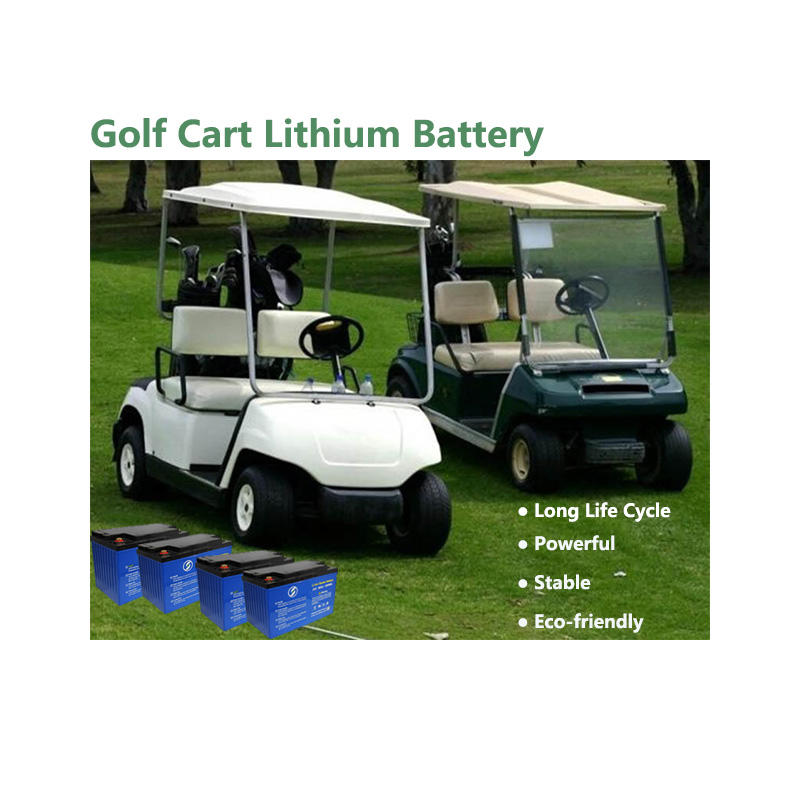 Lithium Golf Cart Battery | LiFePO4 Battery | Customized Battery
