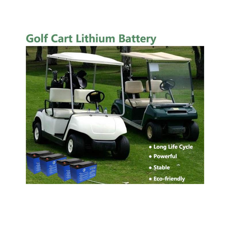 Lithium Golf Cart Battery | LiFePO4 Battery | Customized Battery