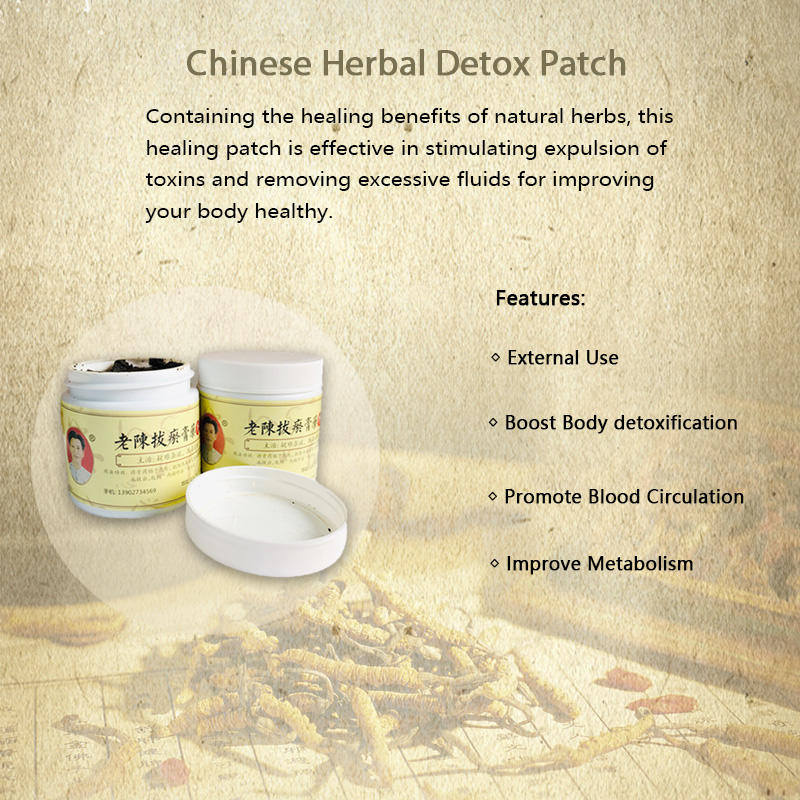 Chinese Herbal Detox Patch | Coronavirus Treatment | Natural Ingredients