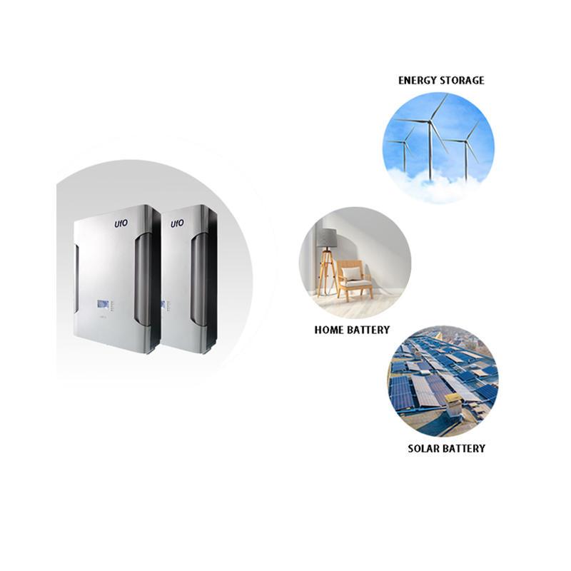 48V 200Ah LiFePO4 Power Wall Battery | Solar Battery | Backup Power | Optional GPRS | Silver Gray