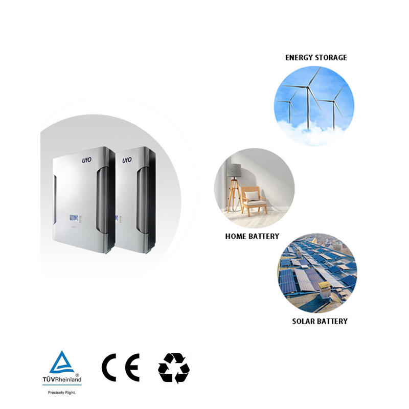48V 200Ah LiFePO4 Power Wall Battery | Optional GPRS | Solar Battery | Backup Power | Silver Gray