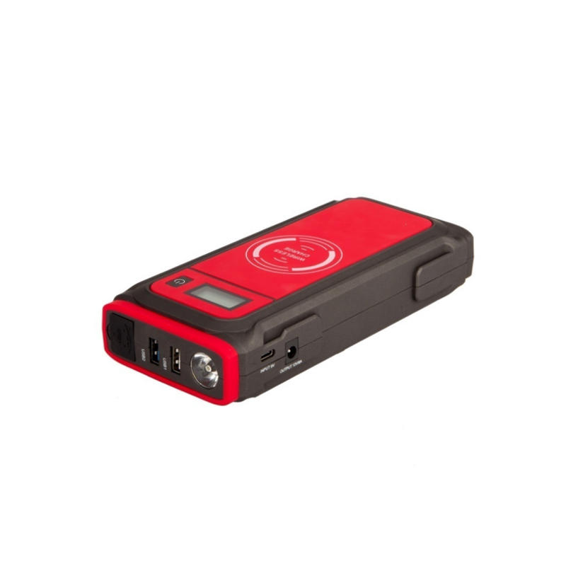 UFO-A38 14.8 Volt Portable Car Jump Starter 850Amps Peak Lithium Battery Pack | Support Wireless Charging