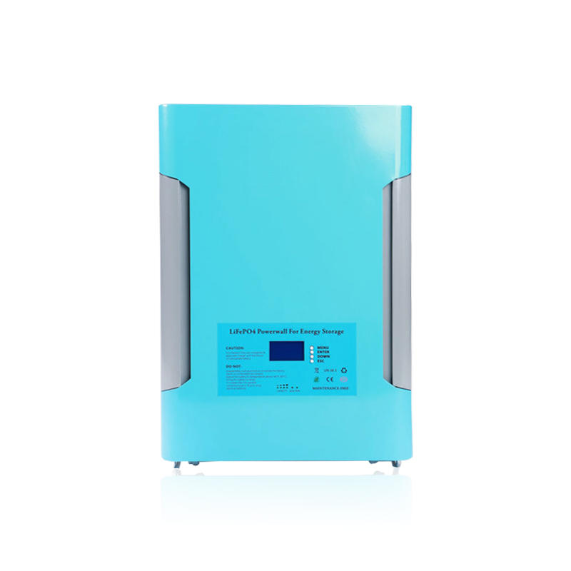 Sky Blue Powerwall | LiFePO4 Battery (Optional GPRS)| 48V 200Ah | Solar System | Backup Power