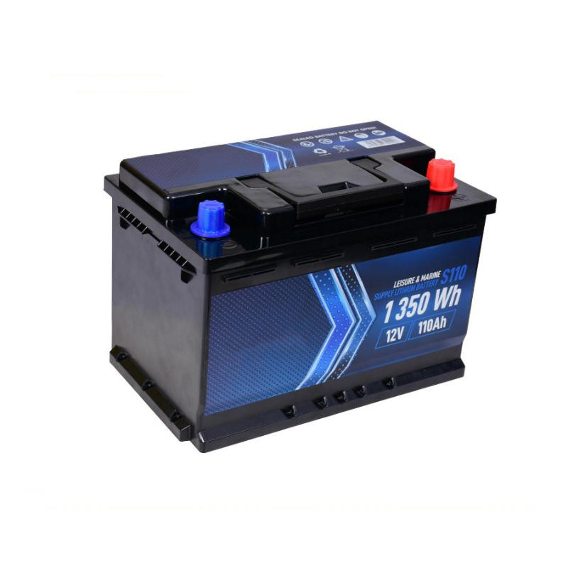 Lithium Car Battery 12V 110Ah | Deep Cycle Lipo Leisure/ Marine Battery