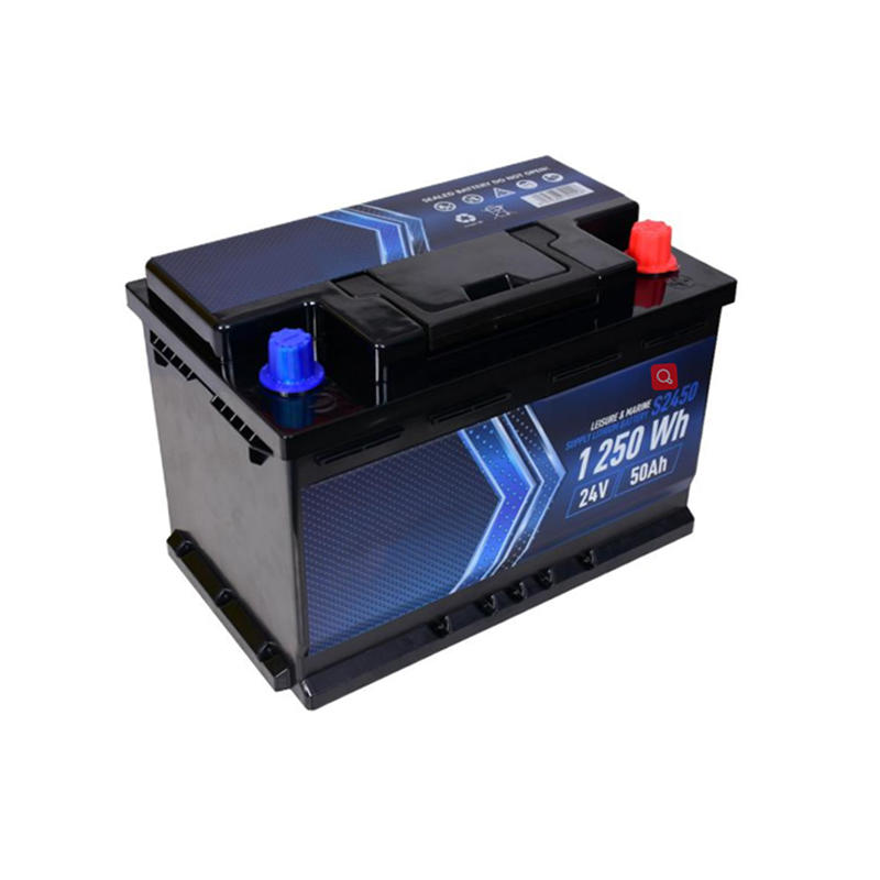 24V 50Ah Lithium Car Battery | Deep Cycle Lipo Car/ Marine/ Leisure Battery