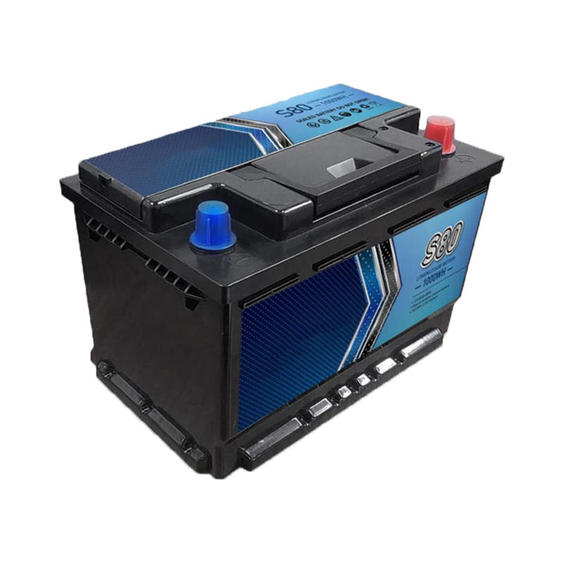 Lithium Car Battery 12V 80Ah | Deep Cycle Lipo Car/ Leisure/ Marine Battery
