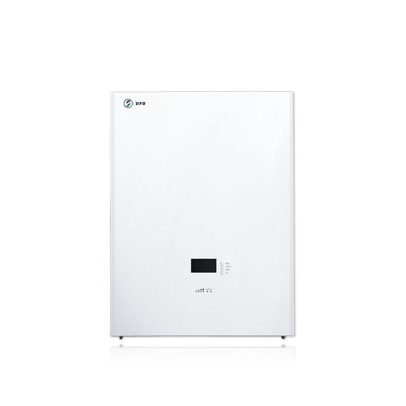 White | Wall Mounted Solar Battery | LiFePO4 Battery for Solar Storage System, Backup Power
