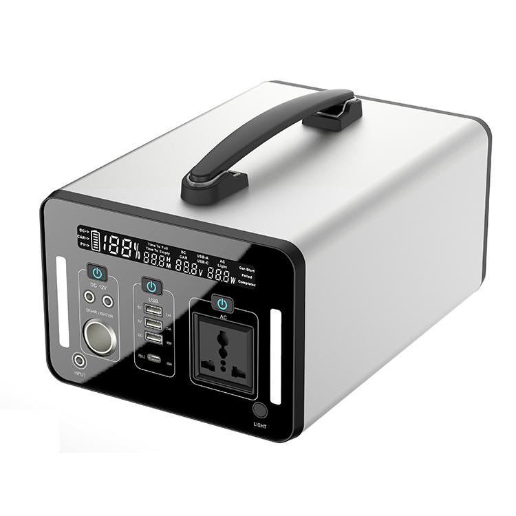 Portable Lithium Power Station   Portable Power Generator 500Wh   Outdoor Power  Emergency Backup Battery