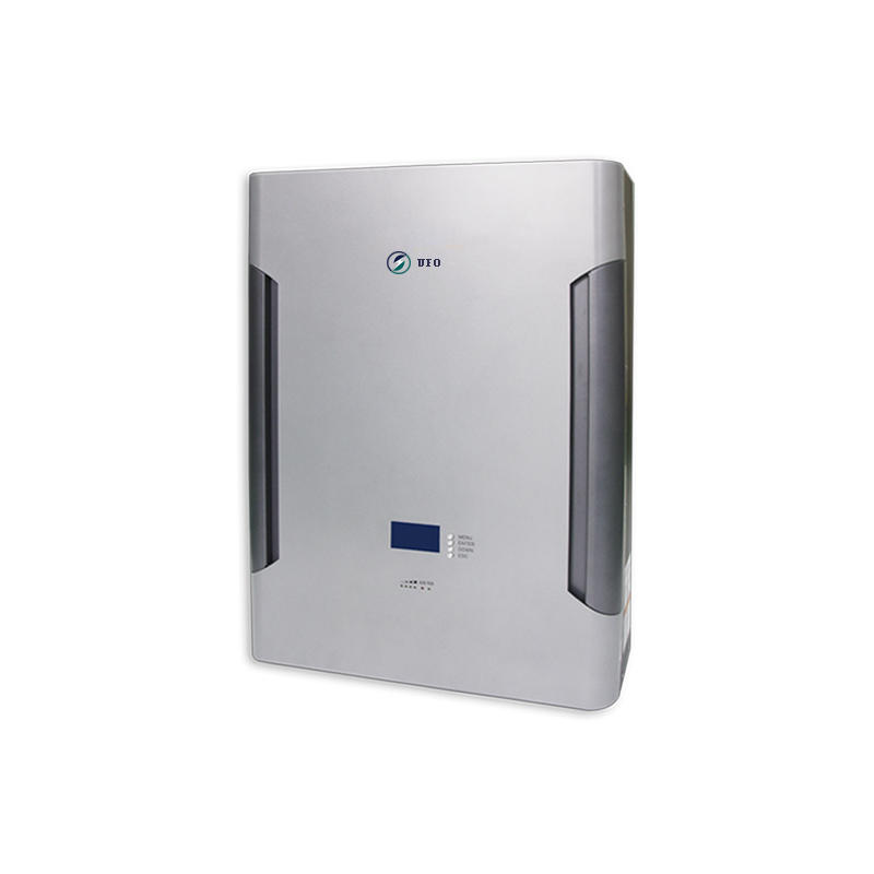 Sliver Grey | Wall Mounted Solar Battery | LiFePO4 Battery (Optional GPRS) for Solar Storage System, Backup Power