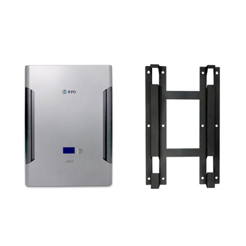 Silver Gray | UFO Wall Mounted Solar Battery | LiFePO4 Battery | 48V 100Ah 200Ah | Commercial & Residential Solar Storage