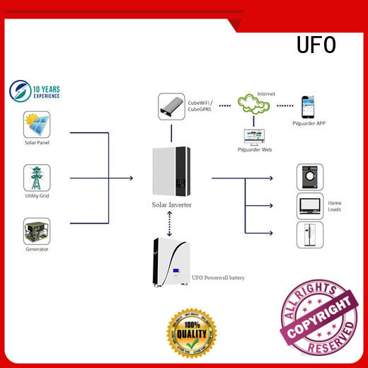 UFO home powerwall long service life for solar system telecommunication ups