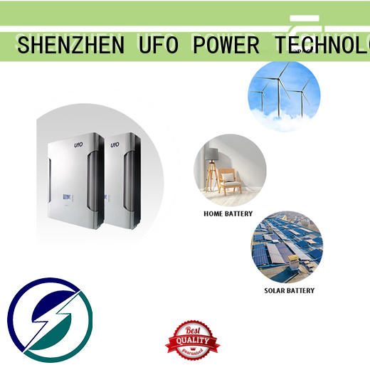 UFO lifepo4 battery pack suppliers for solar system telecommunication ups