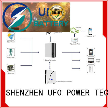 UFO inverter power wall battery long service life for solar system telecommunication ups