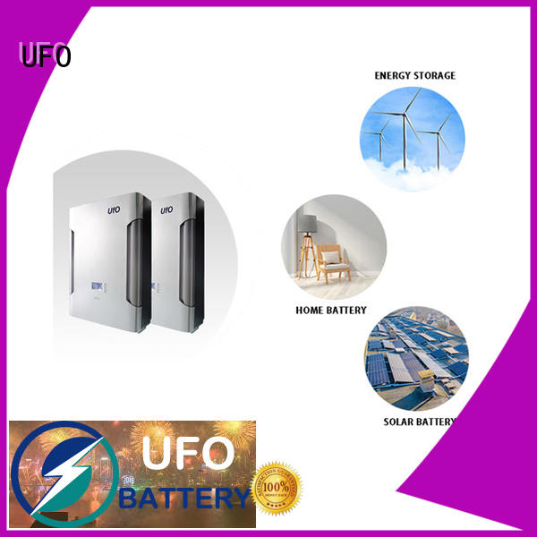 UFO lithium ion battery pack suppliers for solar system telecommunication ups