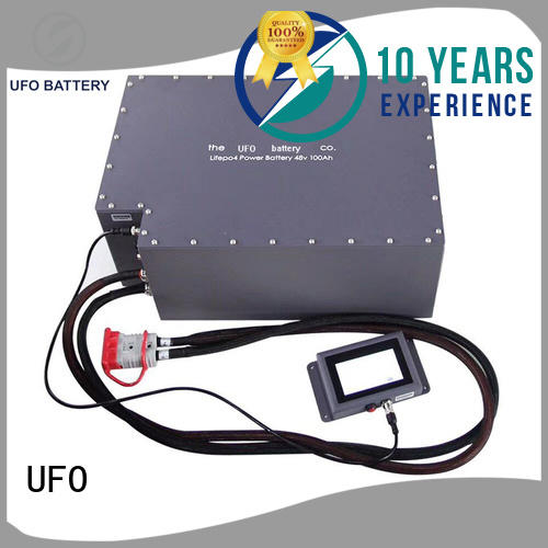 UFO Custom motive power battery for business for solar system telecommunication ups