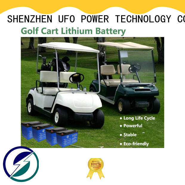 UFO Custom 12 volt lithium battery supply for solar system Gel battery replacement
